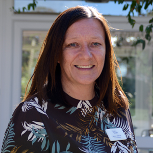 Queensmead care home, Christchurch, Home Manager Jenny Abbott
