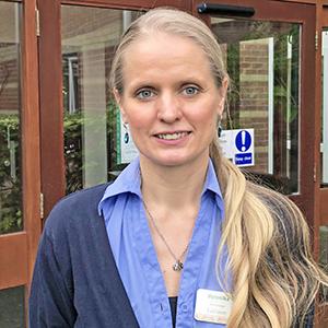 Fairlawn care home, Ferndown, Home Manager Veronika Blake
