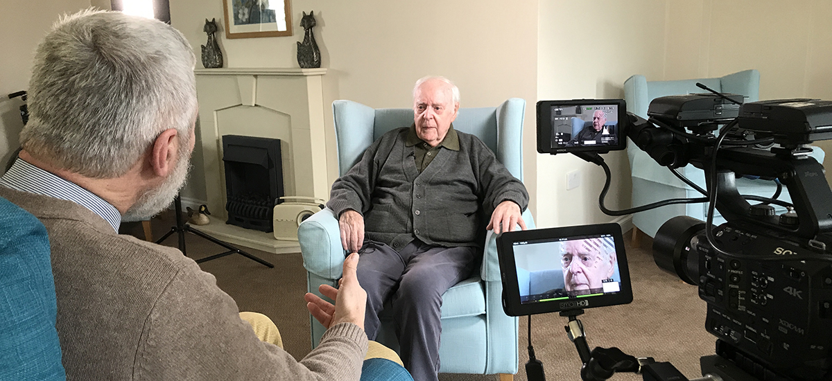 'Someone was looking after me': Veteran shares WW2 memories