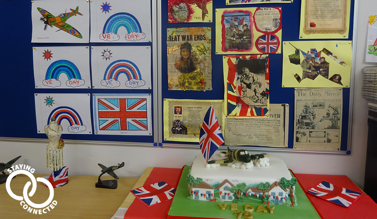 Care South homes hold special events to mark VE Day