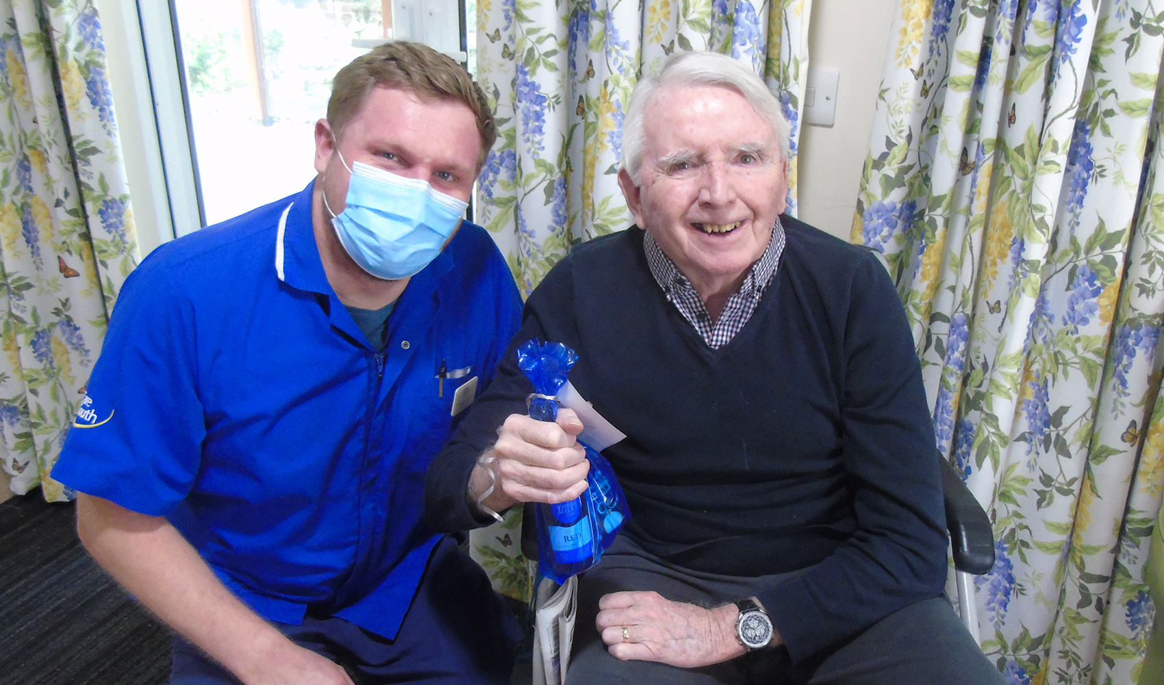 Care South homes put on special Father's Day treat