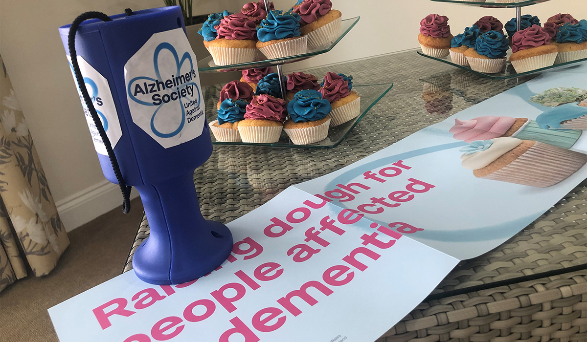 Care homes support Alzheimer's Society with baking fundraisers