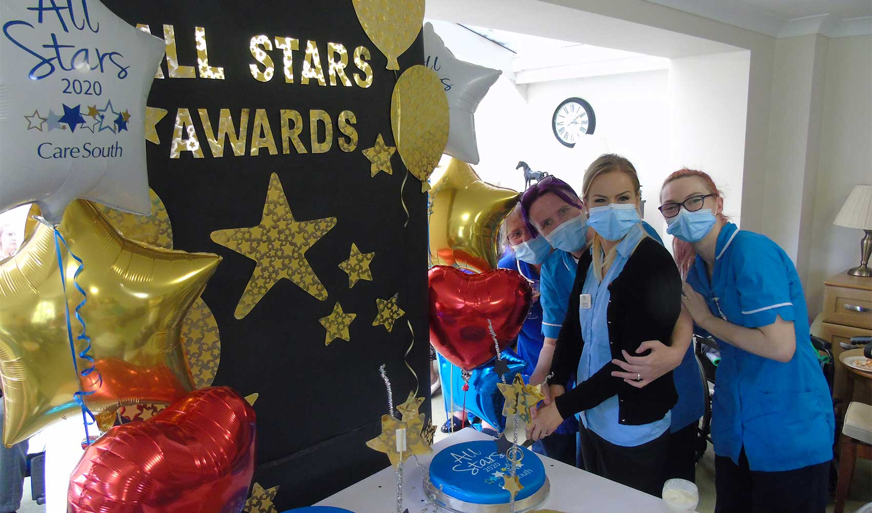 Fairlawn celebrate Care South All Stars Awards 2020