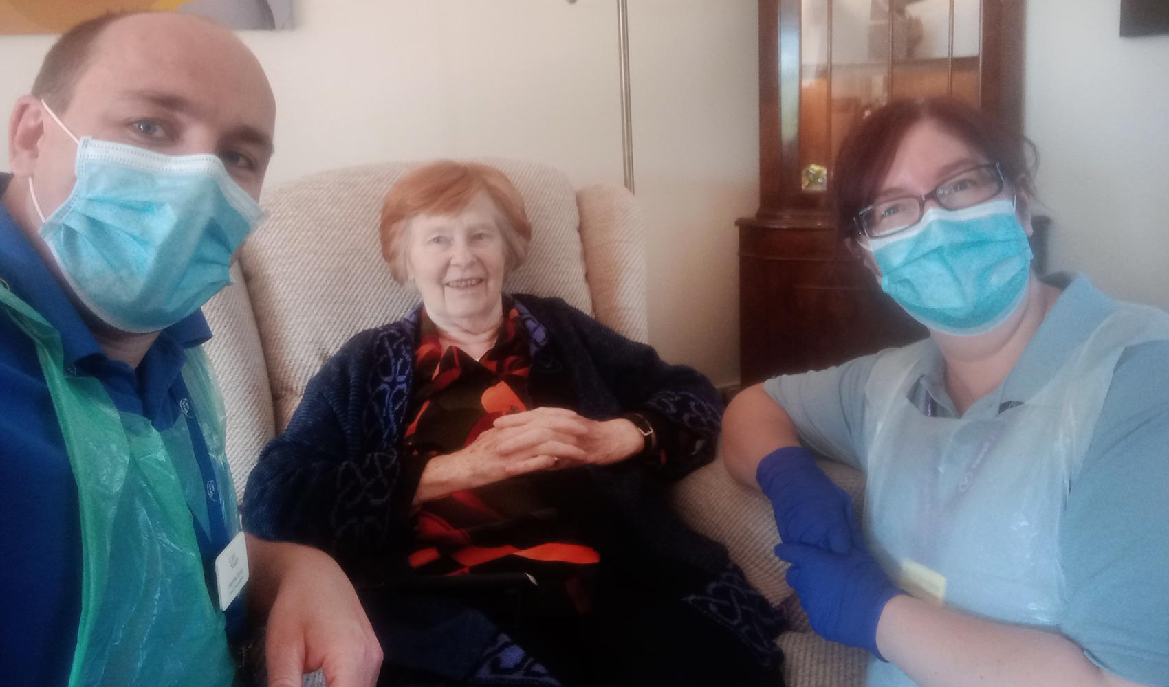 Care at Home team support with NHS discharges