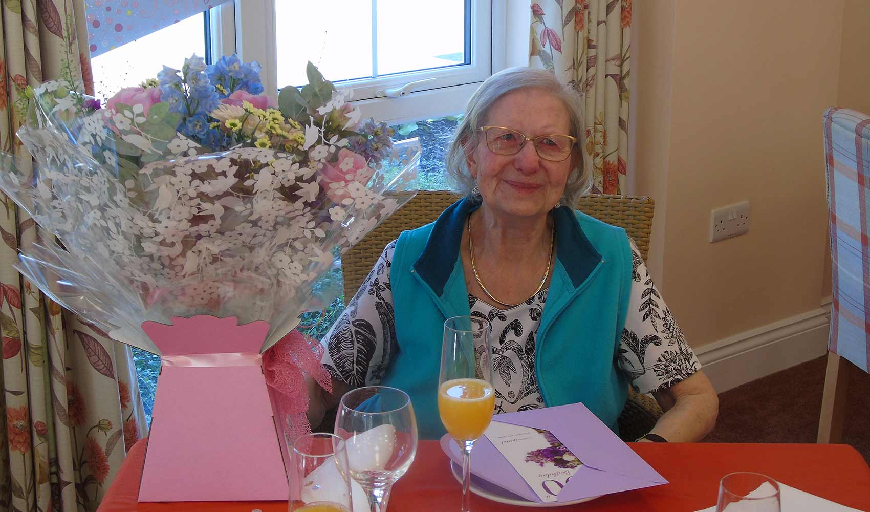 90th birthday celebrations at St Ives House