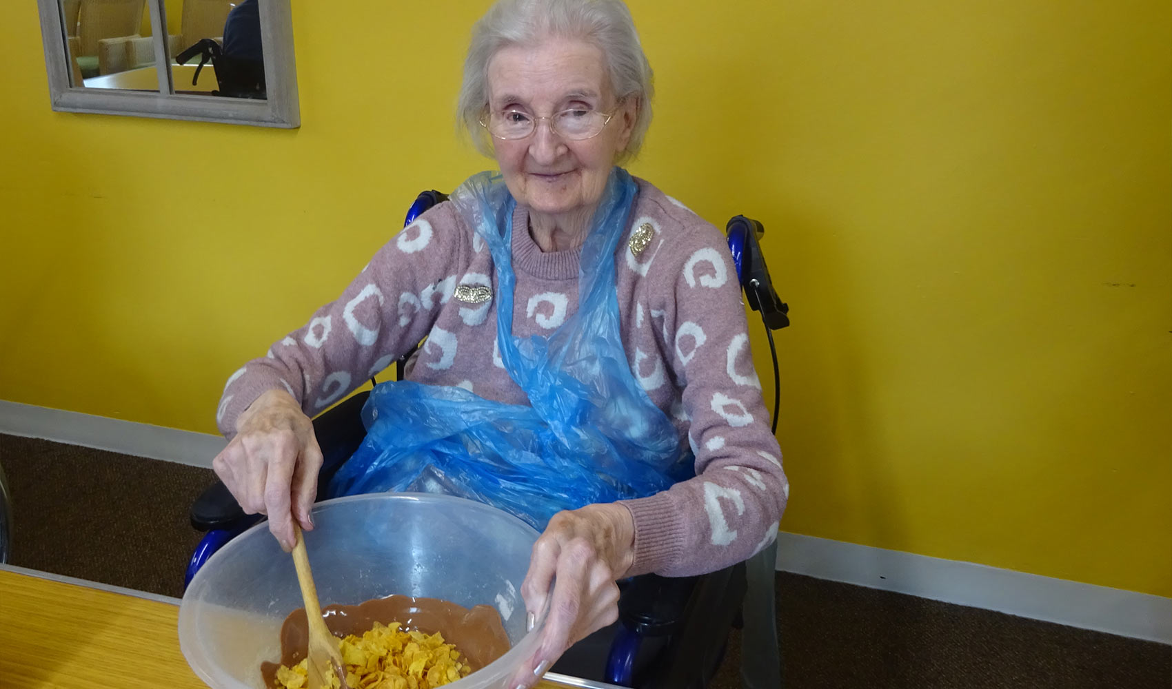 An afternoon of baking at Sussexdown
