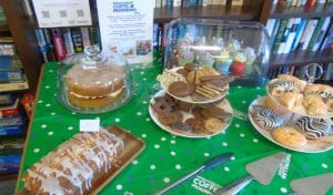 St Ives House care home, Ringwood, Macmillan coffee morning