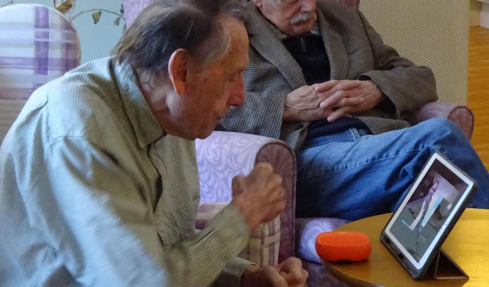 Sussexdown care home, Storrington, memory box