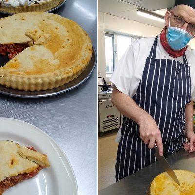 Wickmeads care home, Southbourne, Pie Week recipe